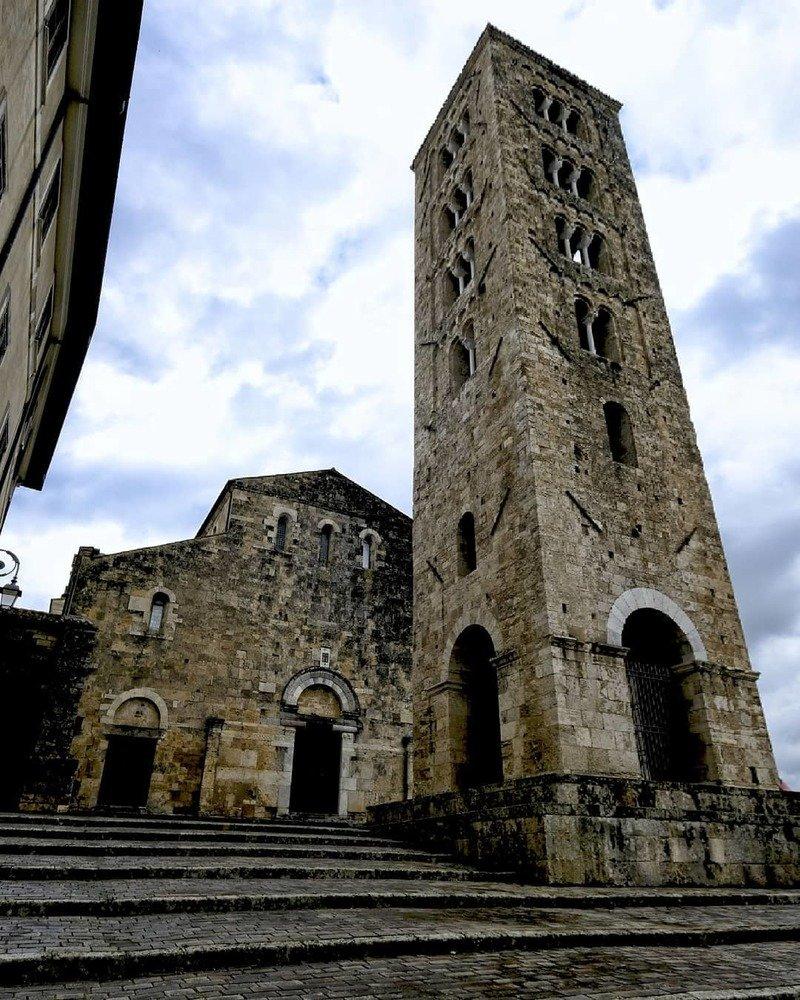 cattedrale anagni facciata