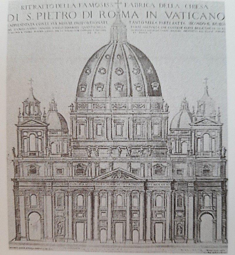 gian lorenzo bernini basilica san pietro campanili