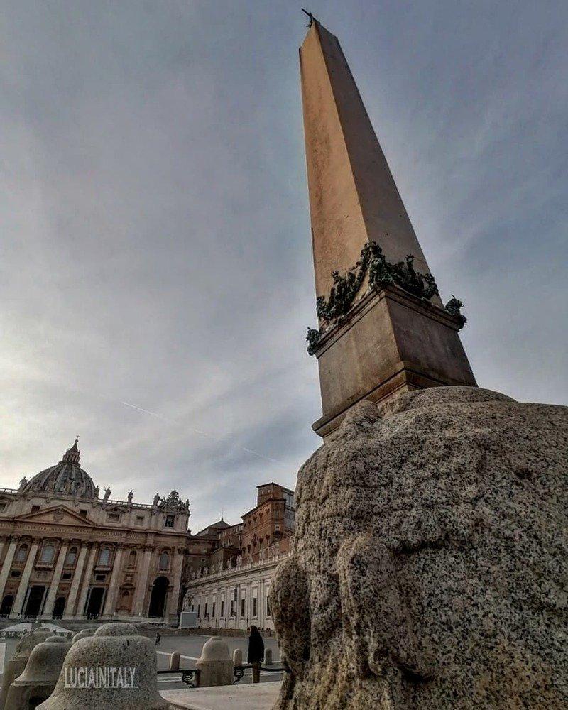 obelisco vaticano basilica san pietro