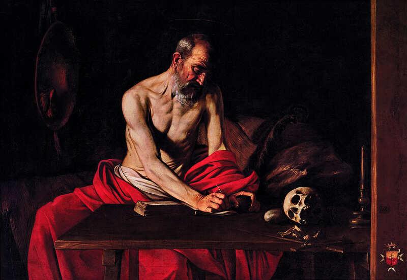 St Jerome by Michelangelo Merisi da Caravaggio.jpeg
